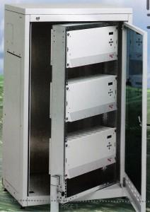 TCH 600 System m. 3 kabinetter i skab